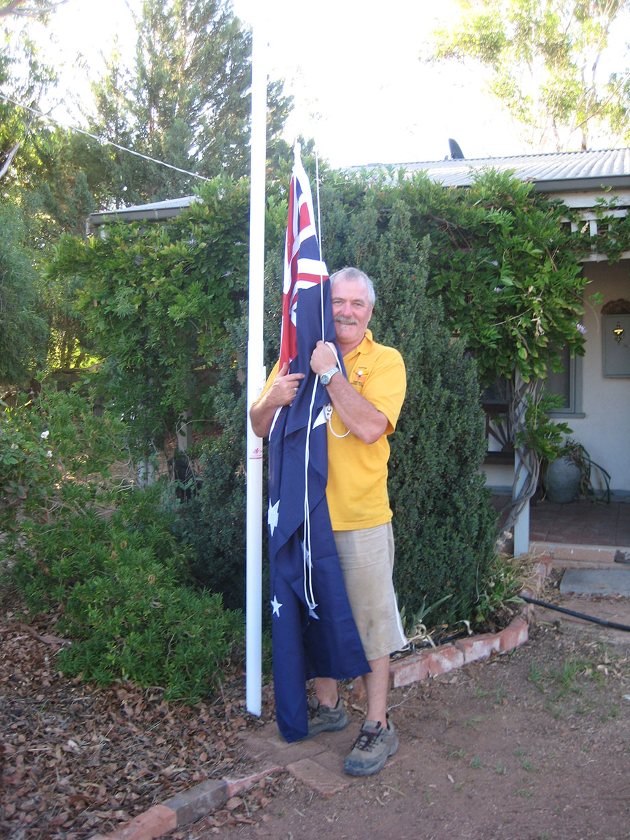 Proud Aussie My Flagpole